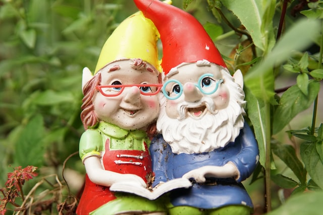Gnomes are funny and cute dwarf creatures.