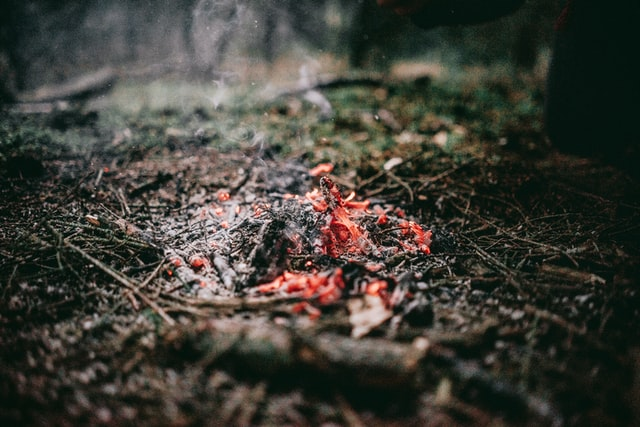It is often said that there is ember where a fire giant sat down