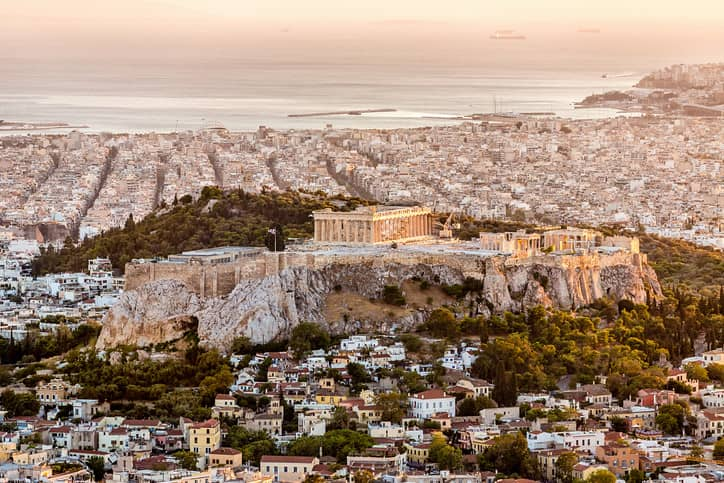 Ancient Greece cities have a rich culture and background.
