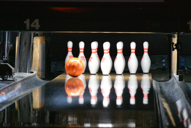 Bowling usually includes ten pins.