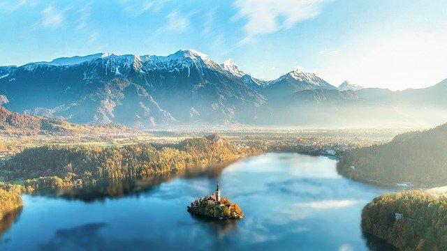This lake means chosen spot.