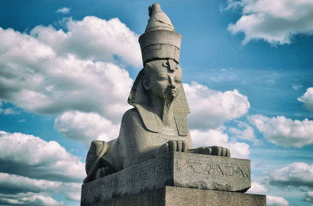 There are many puzzling riddles that are worthy of being called Sphinx riddles.