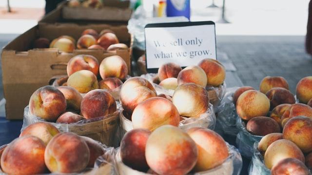 People can enjoy peaches joke as much as peaches.