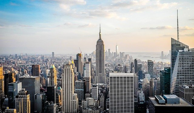 New York City is one of the most densely populated places in the world.