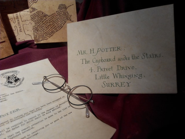 We're still waiting for our Hogwarts letter.