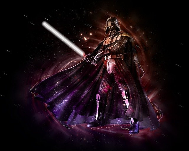 Darth Vader, the futuristic, and the magnificent character!