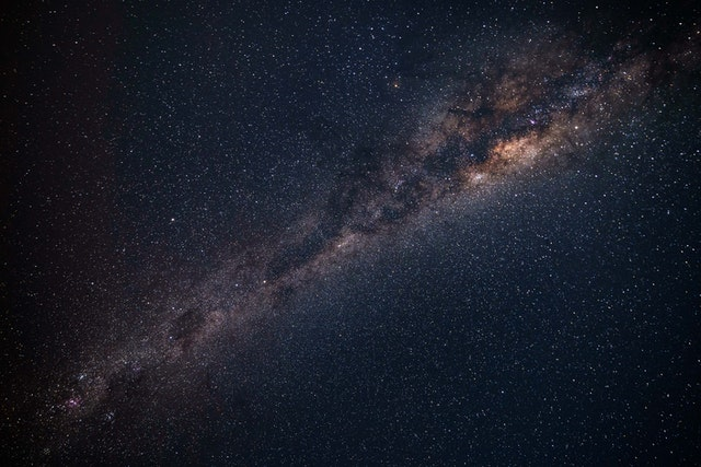 Milky Way galaxy is a spiral galaxy, made up of dark and luminous matter.