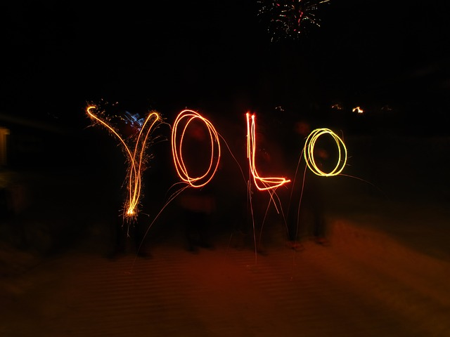 """""""You only live once"""" quotes are inspirational."""