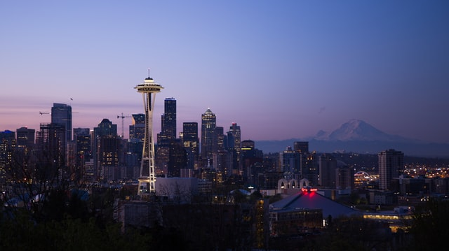 Seattle is one of the cities on the West Coast of the USA.