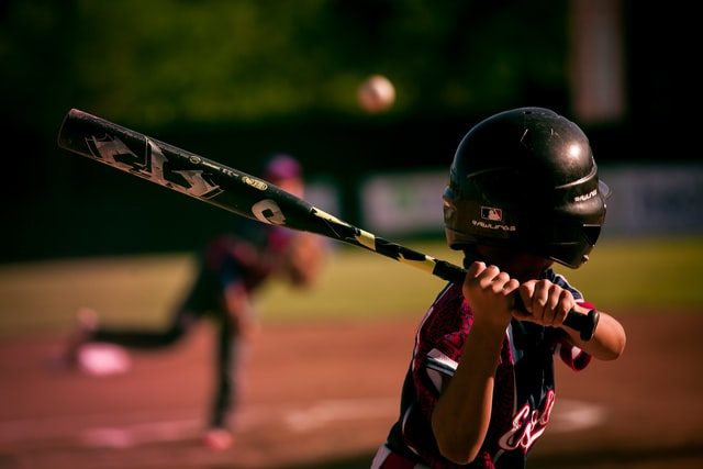 Many people play baseball from a young age.