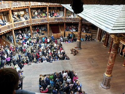 Even today many of Shakespeare's plays continue to be performed at The Globe.