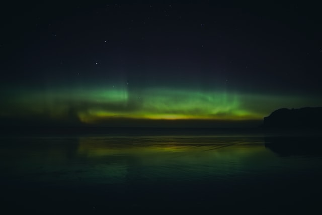 Northern Lights are famous in Alaska.