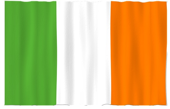 Do you know the Irish flag colors?