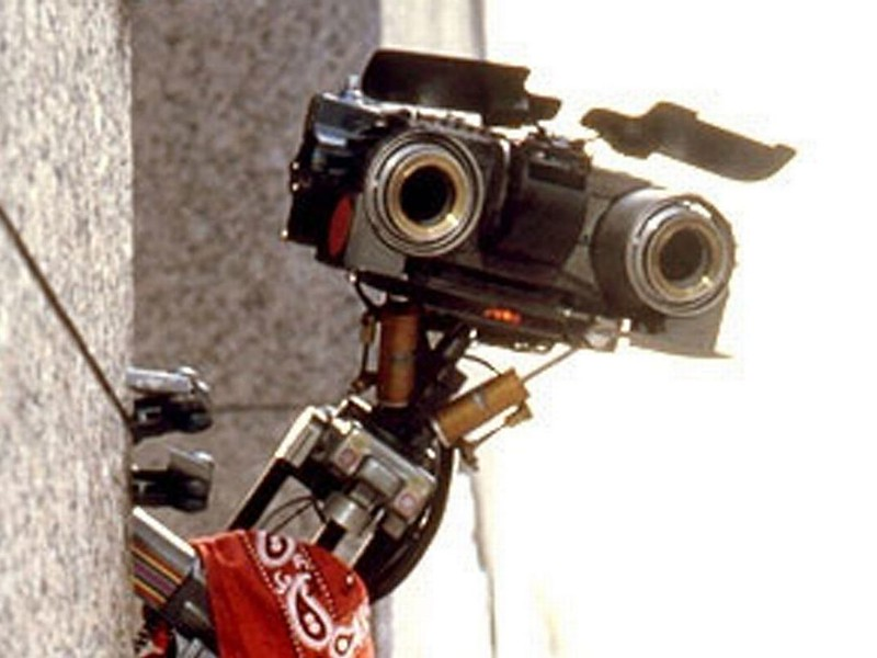 Johnny 5 was the star of the two Short Circuit movies from the mid-80s.
