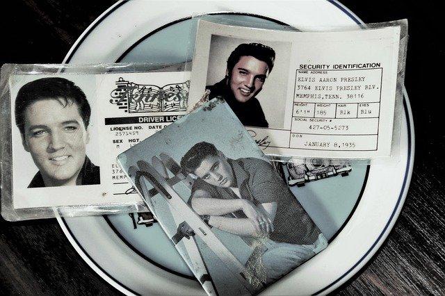 The evergreen Elvis Presley.