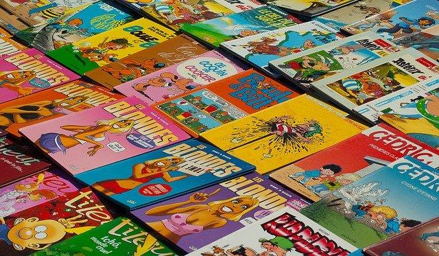 Superhero Comic Books were popular in 1940s in America.