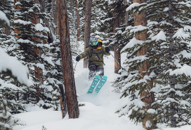Skiing is one of the best winter sports.