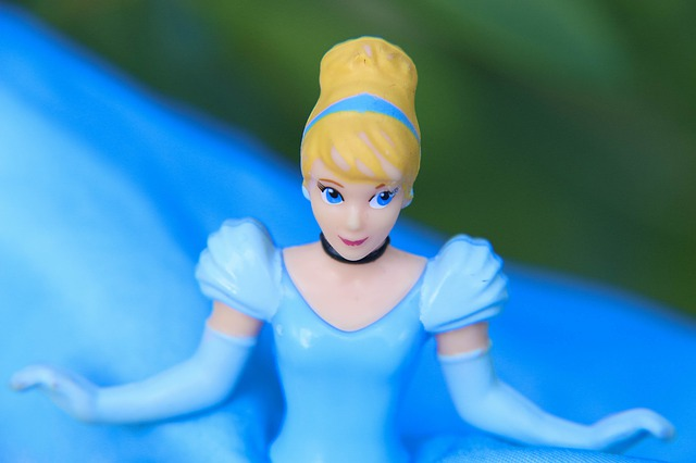 Princess Cinderella is one of the most famous Disney princesses.