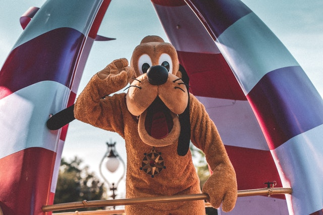 Pluto is one of the most loved and fun character!