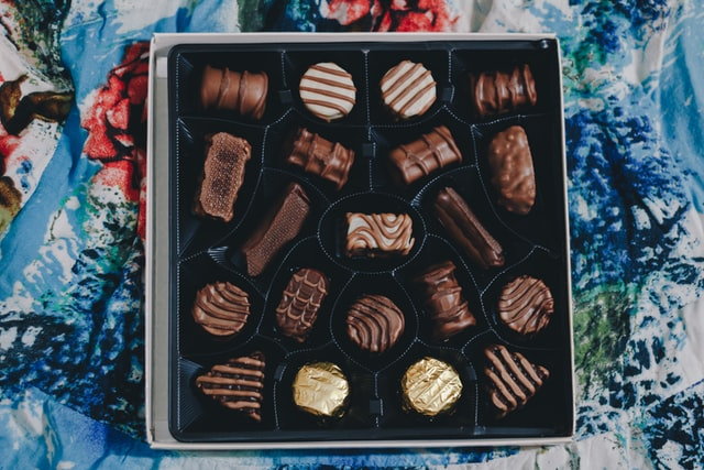 """A famous 'Forrest Gump' quote says that """"life is a box of chocolates""""."""