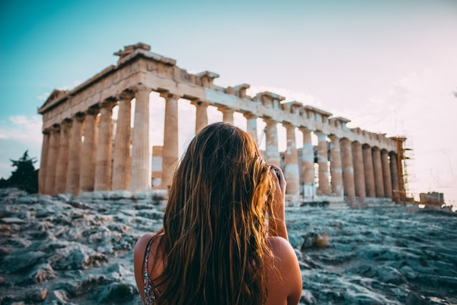 Classical Greek quotes reflect the philosopher's knowledge and reasoning skills.