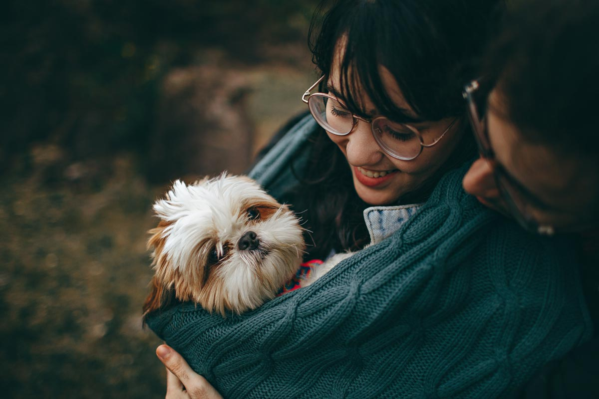 The next best thing to cuddling your pet is a quote about them.