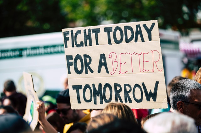Fight today for a better tomorrow.