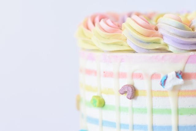 Cake is the best surprise on birthdays.