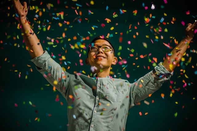 Celebrations let people express their joy.