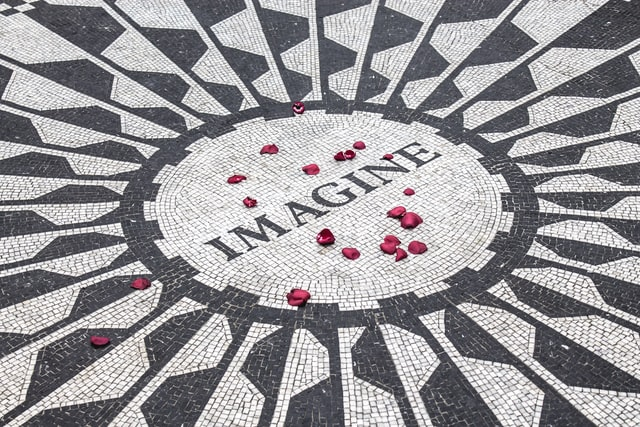 Imagine is one of the best songs produced by The Beatles.