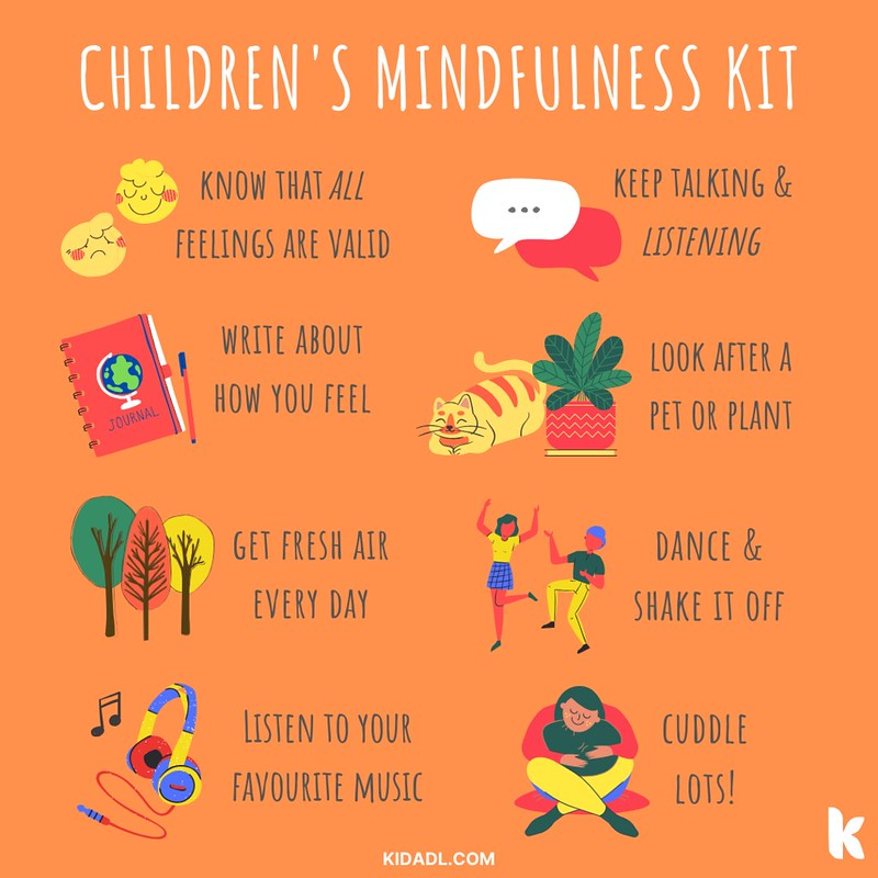 Mindfulness at any age is good to practise.