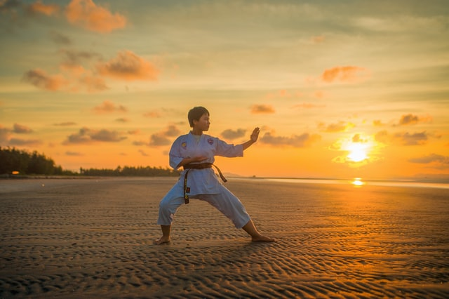 It takes years of time and practice and spirit to be a master at Karate.