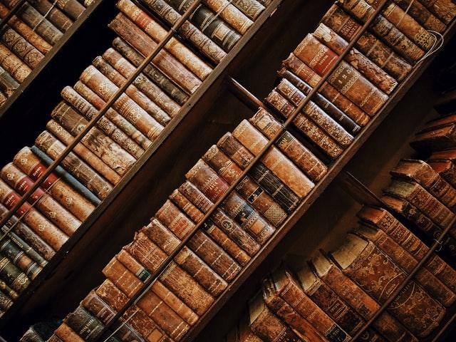 Books are a loner's companion.