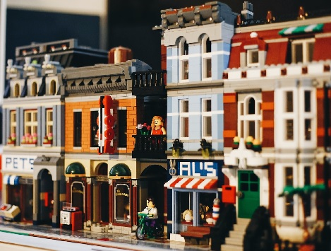 Legos make for great toys and movies.