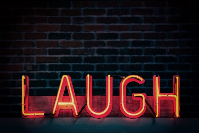 We all laugh at the comedy of Lenny Bruce.