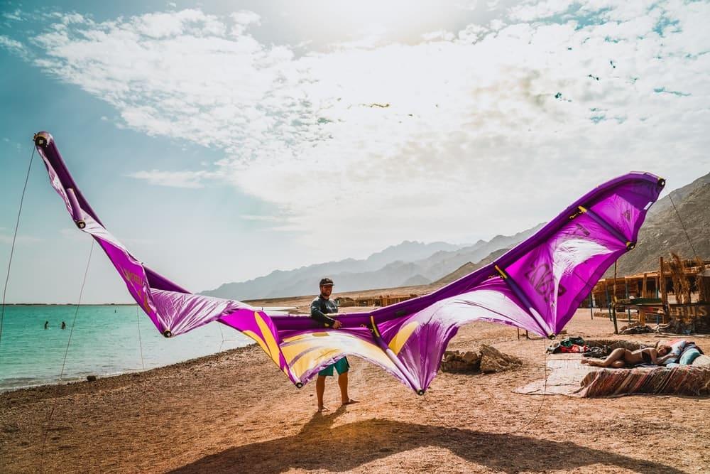 Kitesurfing is the best way to enjoy