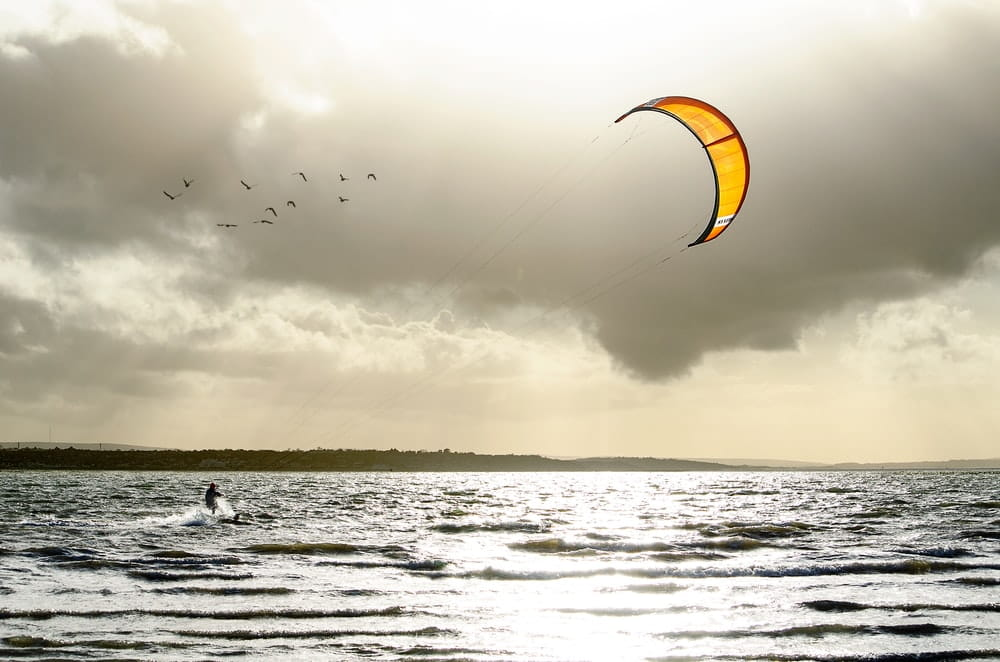 Kite Boarding is a fun sport that you'll like
