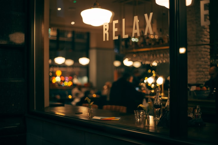 Top stress-free quotes on relaxing.