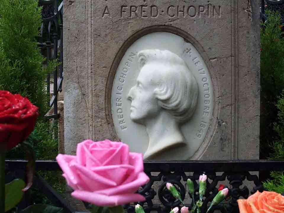 Frederic Chopin's music was appreciated by many.
