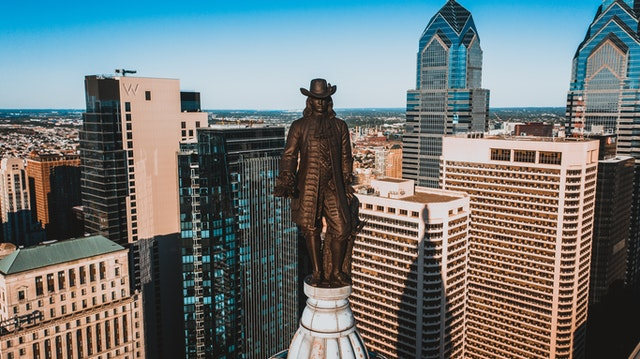 William Penn was the man who founded Pennsylvania.