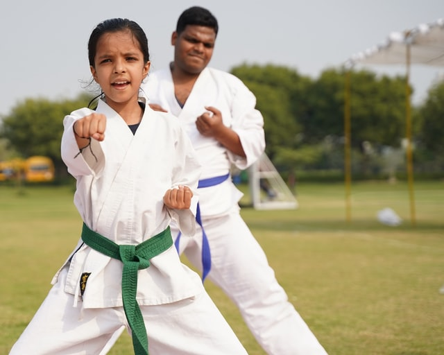 Great Karate masters love to train and work their body every day.