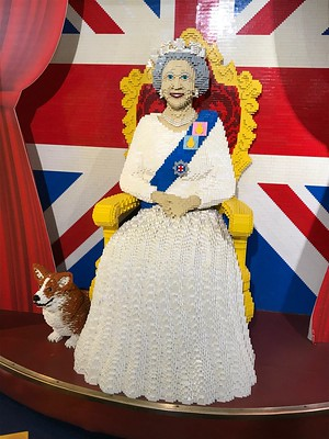 HM Queen Elizabeth II is also memorialised in Brick within the walls of Hamleys.