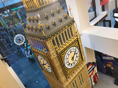 London's Lego store contains many other wonders including Big Ben.