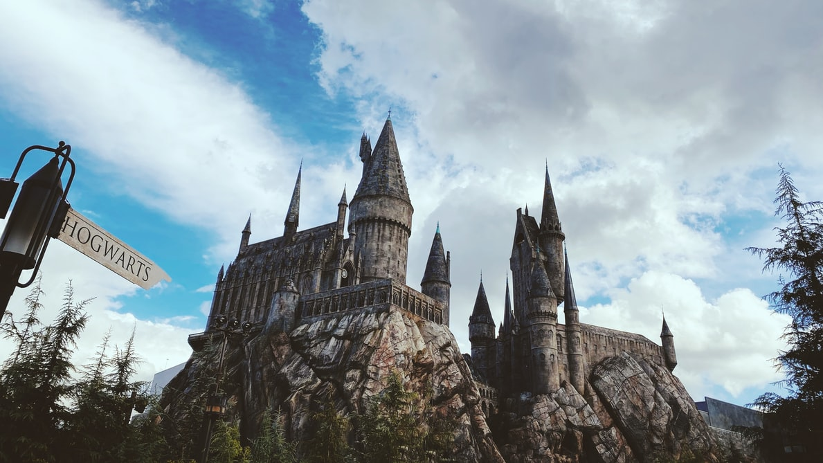 Hufflepuff, Ravenclaw, Gryffindor and Slytherin are the four houses of Hogwarts.