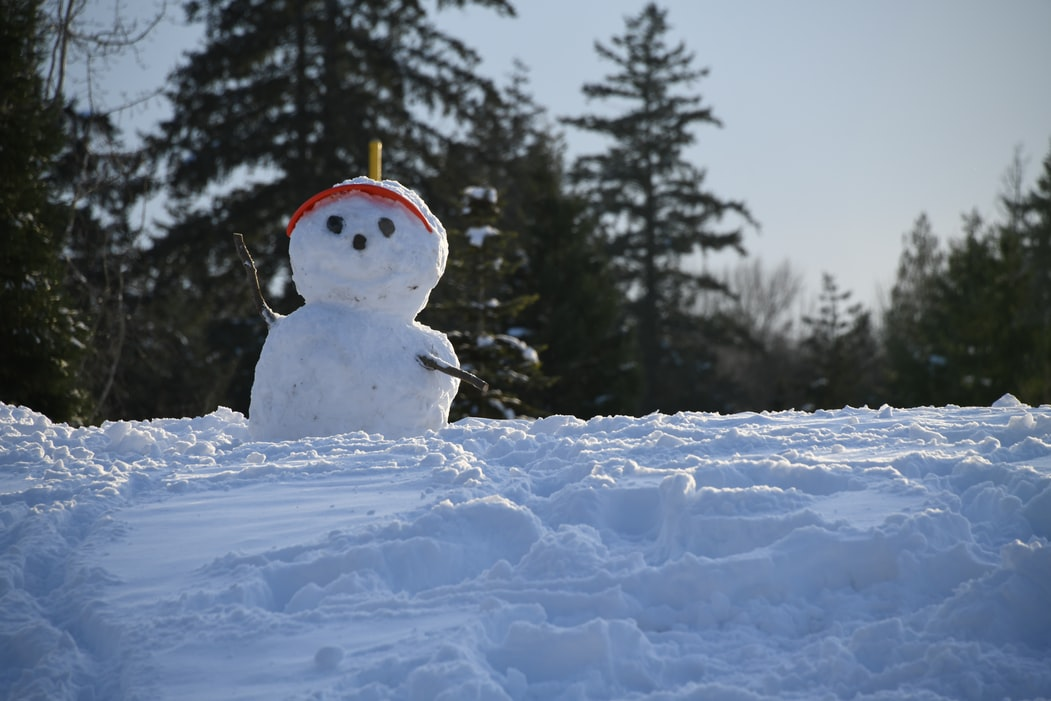 Snowman figures are usually very cute.