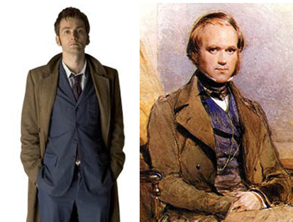 On screen, Doctor Who has yet to meet Darwin.