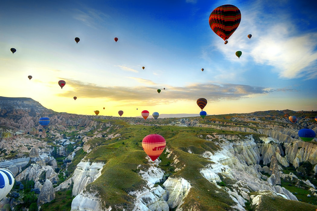 Lean out and touch the sky with these hot air balloon quotes