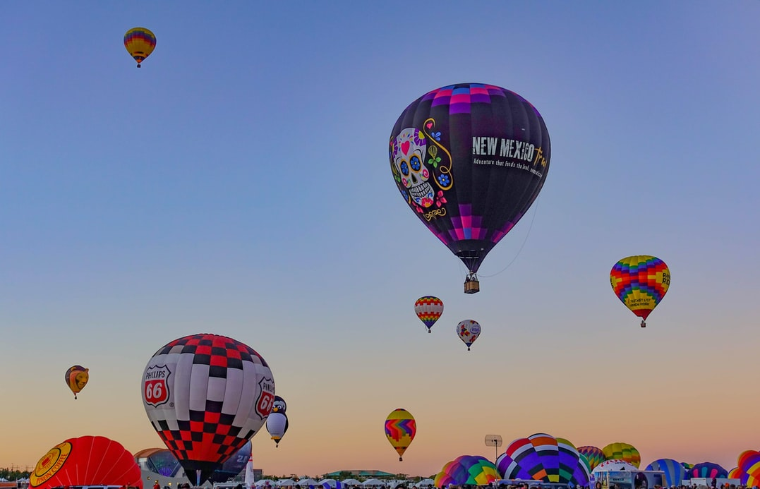 Dream big with these hot air balloon quotes.