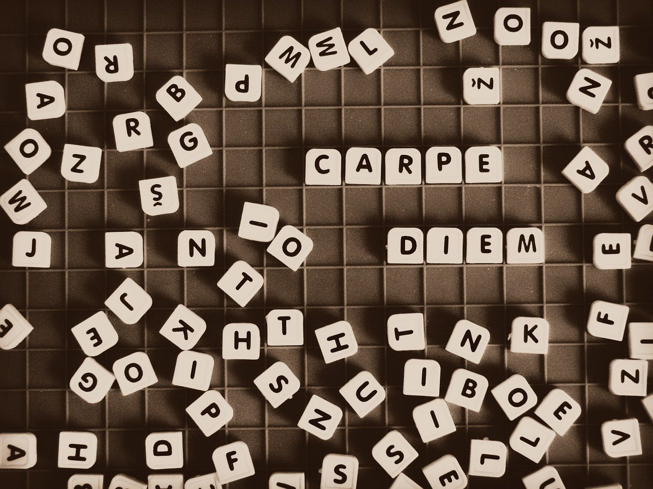 Life is a jumbled words game that we try to solve.