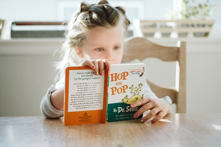 Books are a fun way to encourage imagination in kids